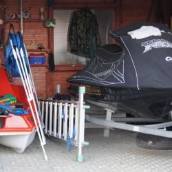 Rowerek, skuter wodny i sprzęt wędkarski